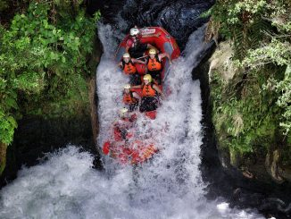 World's Highest Commercially Rafted Waterfall – NZ Activities
